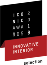 Iconic Awards 2019 Innovative Interior - Selection per l'EVOline One
