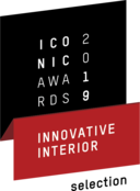 Iconic Awards 2019 Innovative Interior - Selection pour l'EVOline One